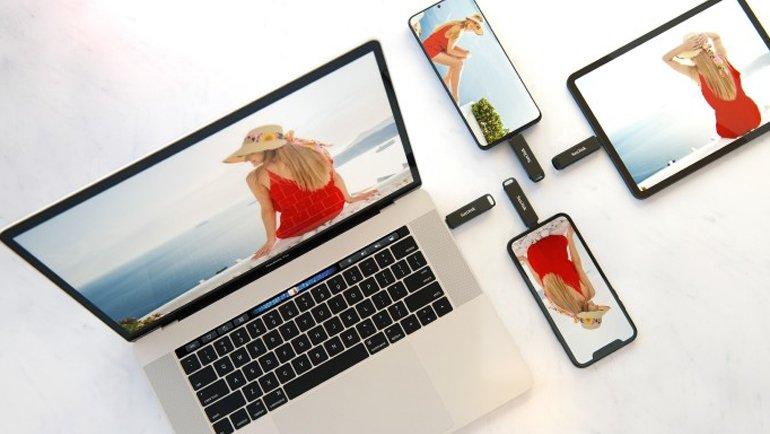 Hem iPhone, hem de Android için…