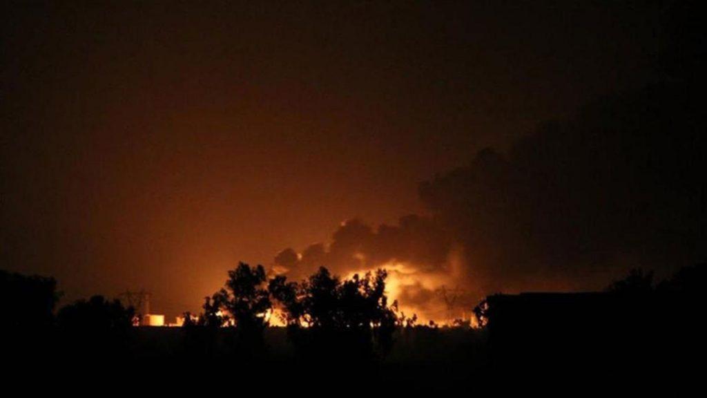 Suudi Arabistan: İHA saldırıları ile çıkarılan yangın kontrol altına alındı